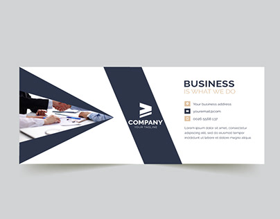 Company Facebook Cover Page