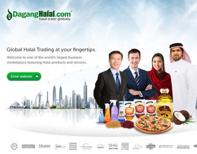 Dagang Halal Landing Page Proposal
