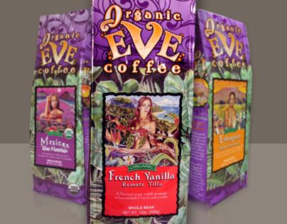 Organic Eve Coffee Packaging