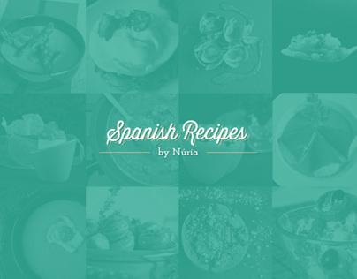 Spanish Recipes by Núria