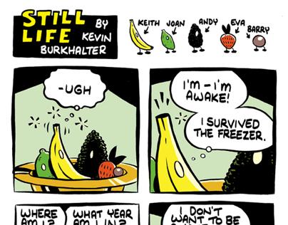 Still Life Comic Strip