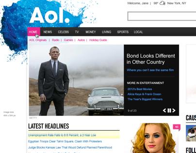 AOL Dynamic Lead Redesign