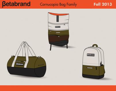 Betabrand Cornucopia Bag Design