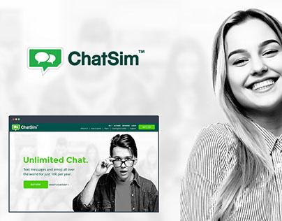 ChatSim Responsive Website