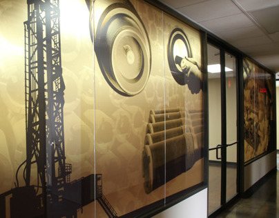 Tuboscope Conference Room Graphics