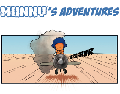 Comic strip - Munny's Adventures