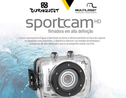 Filmadora Sportcam Multilaser