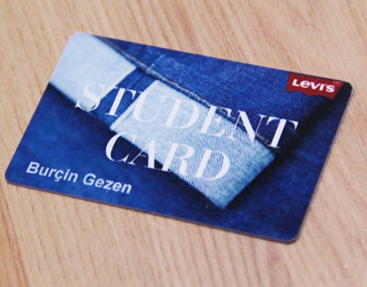 Levi's Student Card