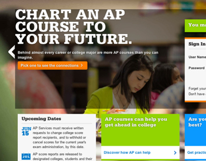 AP Website, Mobile, Marketing + Social