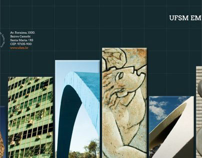 Book cover - UFSM in Numbers 2012