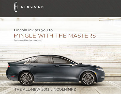 Lincoln MKZ Microsite [Mingle with the Masters]
