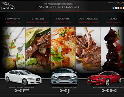Jaguar Microsite [Instinct for Flavor]