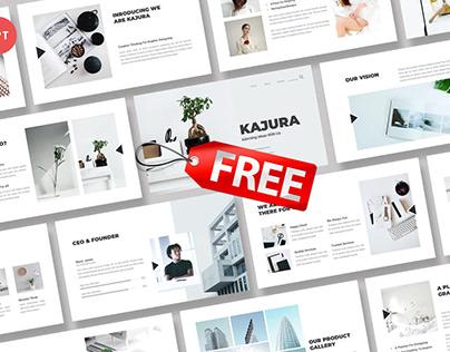 Free Premium - Kajura Creative Powerpoint Template