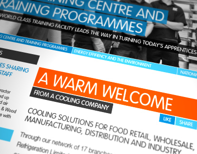 WR Refrigeration Website