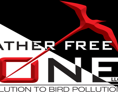 Feather Free Zone   Visual Identity