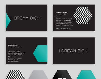 I Dream Big: talent scouting company branding