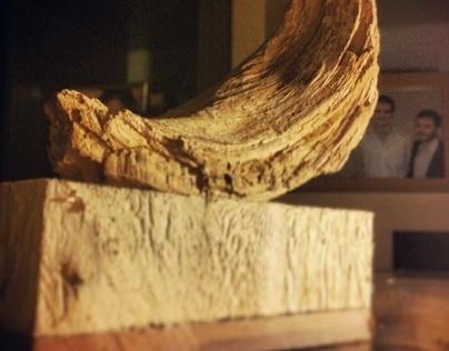 escultura de sobre mesa