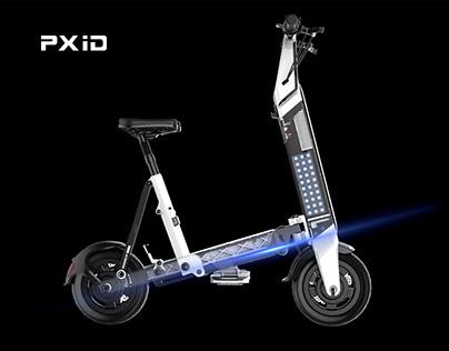Fashion and powerful e-bike design