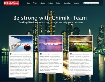 Chimik Team - Trading Chemicals Worldwide