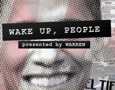 WAKE UP, PEOPLE Poster 3