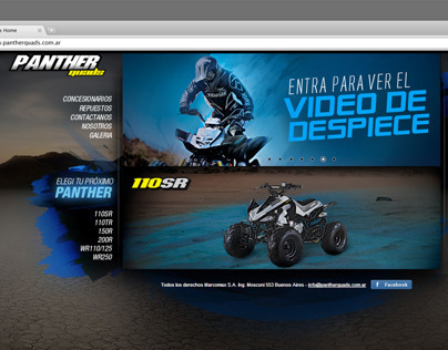 Panther Quads Webpage