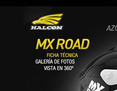 Cascos Halcón Webpage