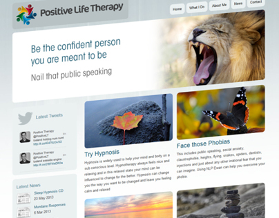 Positive Life Therapy Website