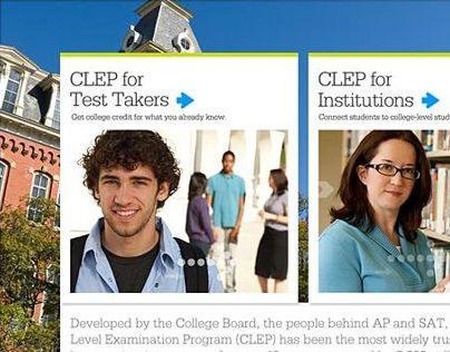 CLEP Website + Marketing