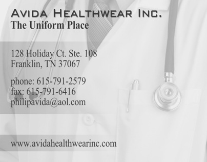 Freelance: Avida Healthware Ad