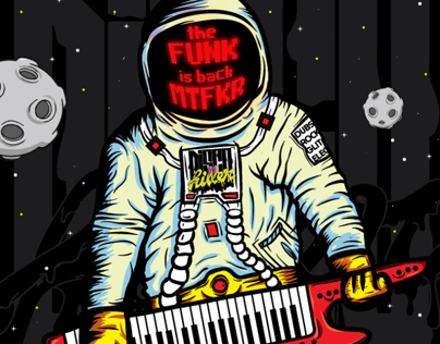 the FUNK is back MTRFKR - Disco Killer Party Flyer