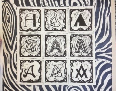 Typography Traditional Prints