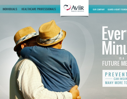 Aviir Website Comps