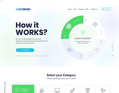 Redesign for an it services
