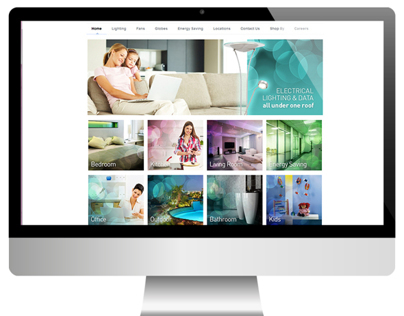 Ideal Lighting Website - Responsive Design