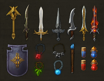 Warlock Iconset