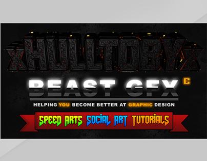 Project 2: Beast Graphics Wallpaper