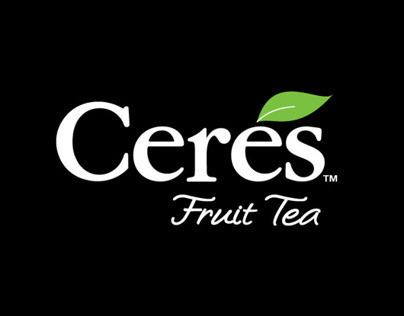 Ceres Fruit Tea Range Packaging