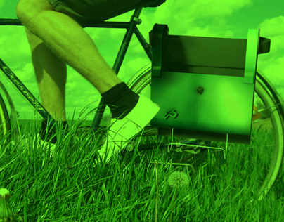 Protect office items  when commuting  by bike