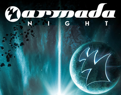 ADE 2013 Poster design for Armada Night