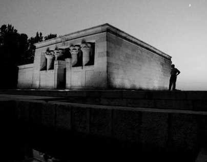 Ephemeral Remember. Temple of Debod, Madrid