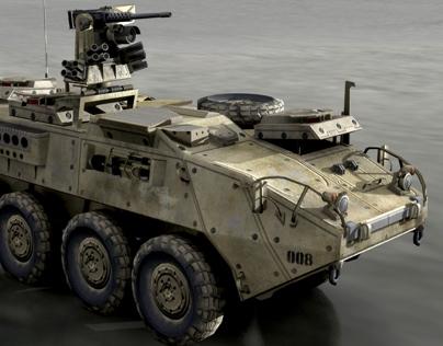 3D model of Stryker