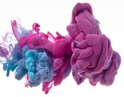 Silky Smooth Ink Clouds Liquid art