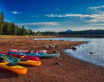 Howard Prairie Lake Landscapes and Panoramas
