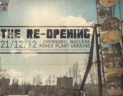 Chernobyl amusement park branding