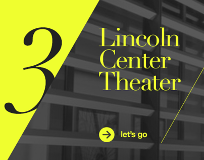 Lincoln Center Theater / Pitch Creative
