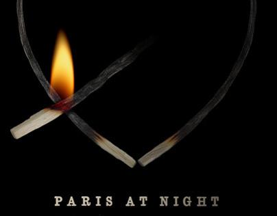 """Poem Posters #1: """"Paris at night"""" by Jacques Prévert"""