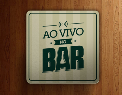 Visual Identity - Ao Vivo no Bar