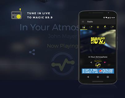 Magic 89.9 Mobile App