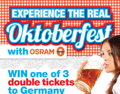 Oktoberfest - Trip to Germany Giveaway
