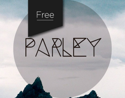 Parley free typeface